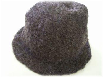 帽子 完成直後