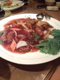 酢豚 天竺