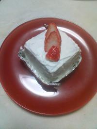 ケーキ完成♪