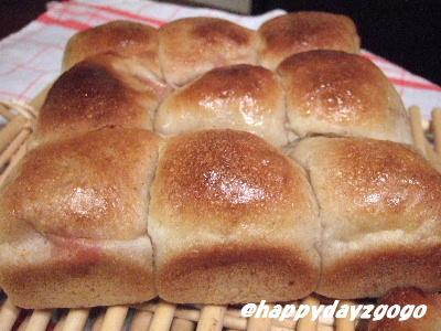 ちぎりパン♪