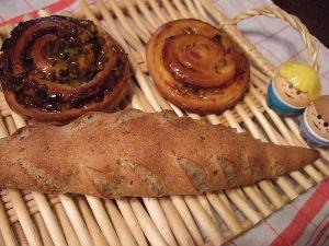 赤坂サカス「ドミニク・サブロン」のパン