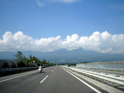 横川付近、高速道路
