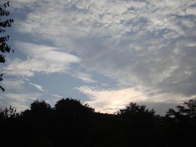 菅平高原の朝