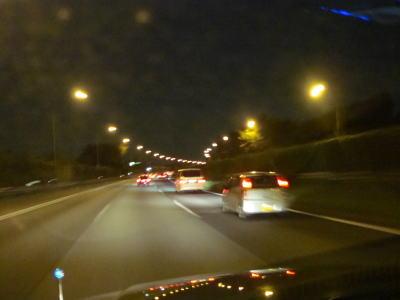 東名高速道路を走る!