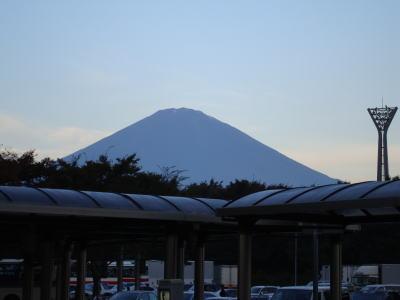 足柄SAからの富士山