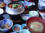 高足ガニ釜飯定食