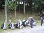 バイクで参加なバイク達