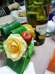 忘年会の食卓