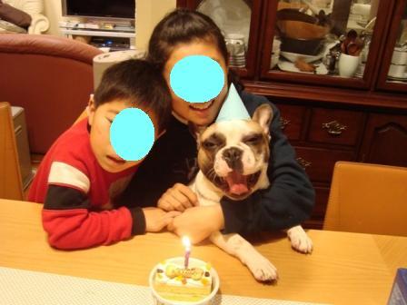 トル 1歳誕生日