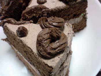 チョコケーキ 091220