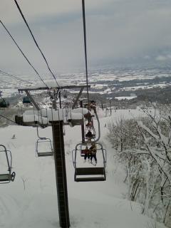 スキー同行者
