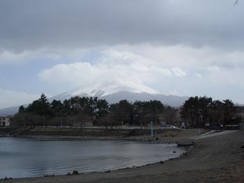 富士山顔出したヽ(´▽`)ノ