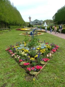 相模原公園は花壇がきれい