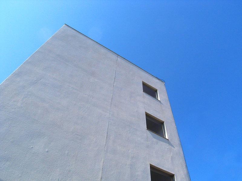 青空と直線1