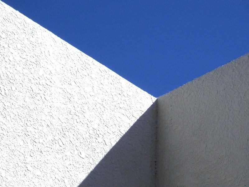 青空と直線0