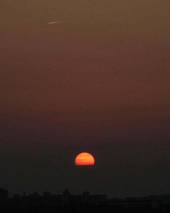 080701今日の夕景2