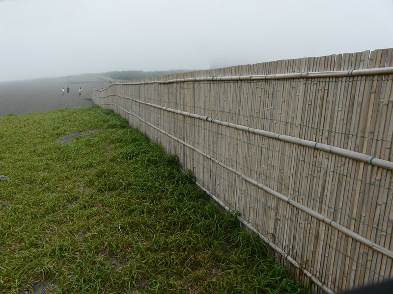 080713霧の平塚海岸1