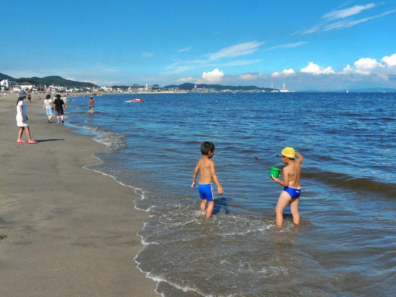 8月31日、三浦海岸。2