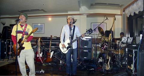 去年の暮れの東海ライブ