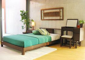 「ゆったりとした癒しのベッドルーム」