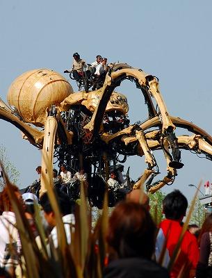 巨大クモの孤独