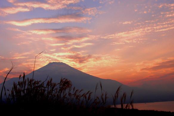 夕陽富士4ab