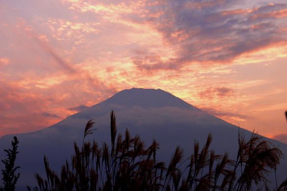 夕陽富士5ab