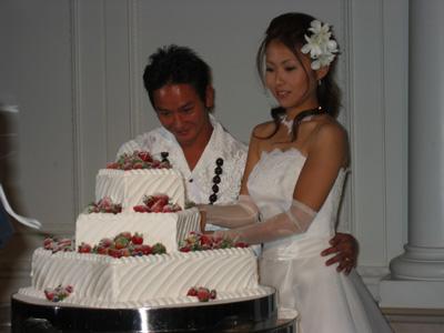 哲太結婚式