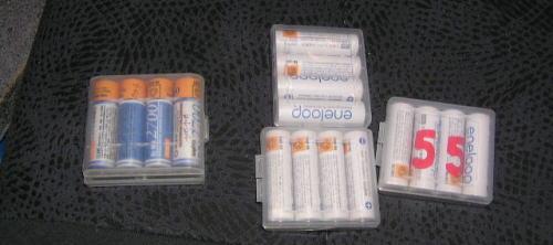 予備の電池・・・