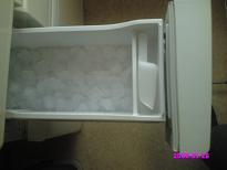製氷室掃除前