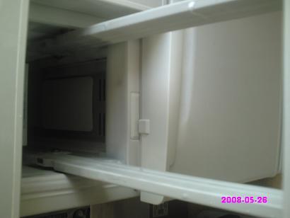 製氷室の奥