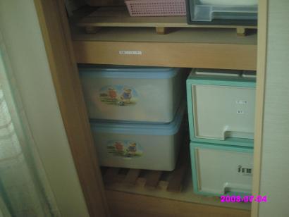 押入れのおもちゃ箱