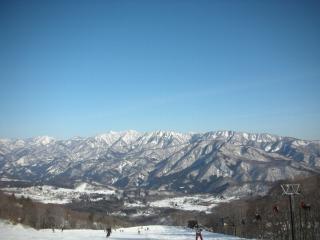 12月27日白馬岩岳