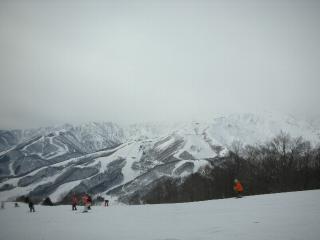 12月28日白馬岩岳