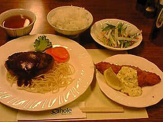 ヴィラスコーレの晩御飯