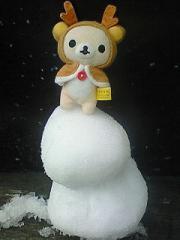 ミクロと雪だるま