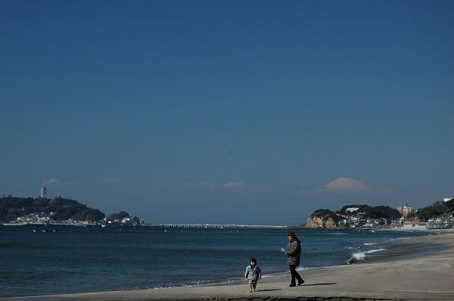七里ヶ浜から