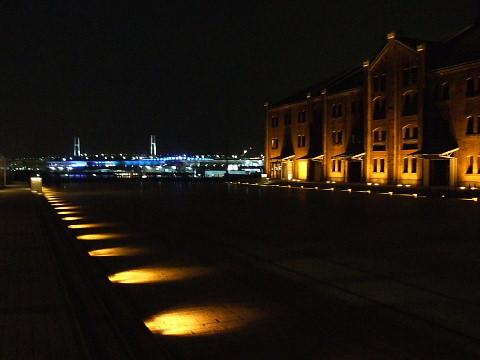 街の灯りがとても綺麗ねよこはま~♪
