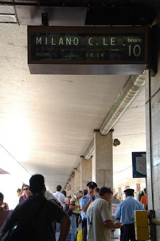 ミラノ行き