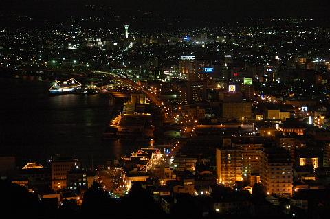 函館山2合目からの夜景