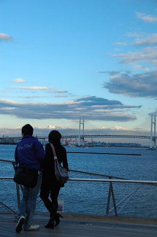 大桟橋から」