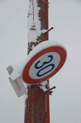 30km制限の道はどこ?