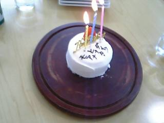 ♪ケーキ♪モアナママ&モアナパパ、用意してくれてありがとぉ!!