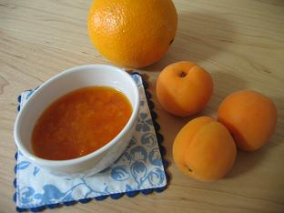 杏とネーブルのジャム