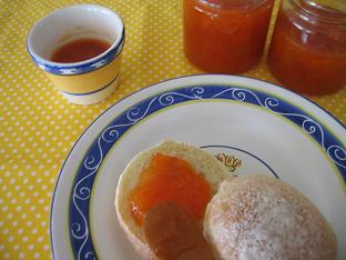 杏とグレープフルーツのジャム