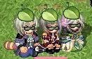 葉っぱ+枝豆