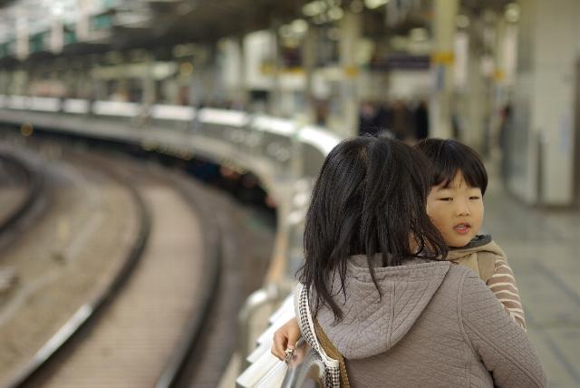 東京駅にやって来た