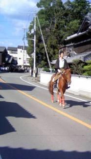 1008秋祭り馬