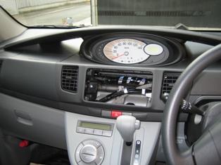 20070127新車ムーブ室内取付け前