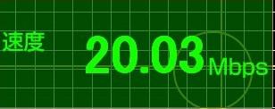 20070415接続速度測定